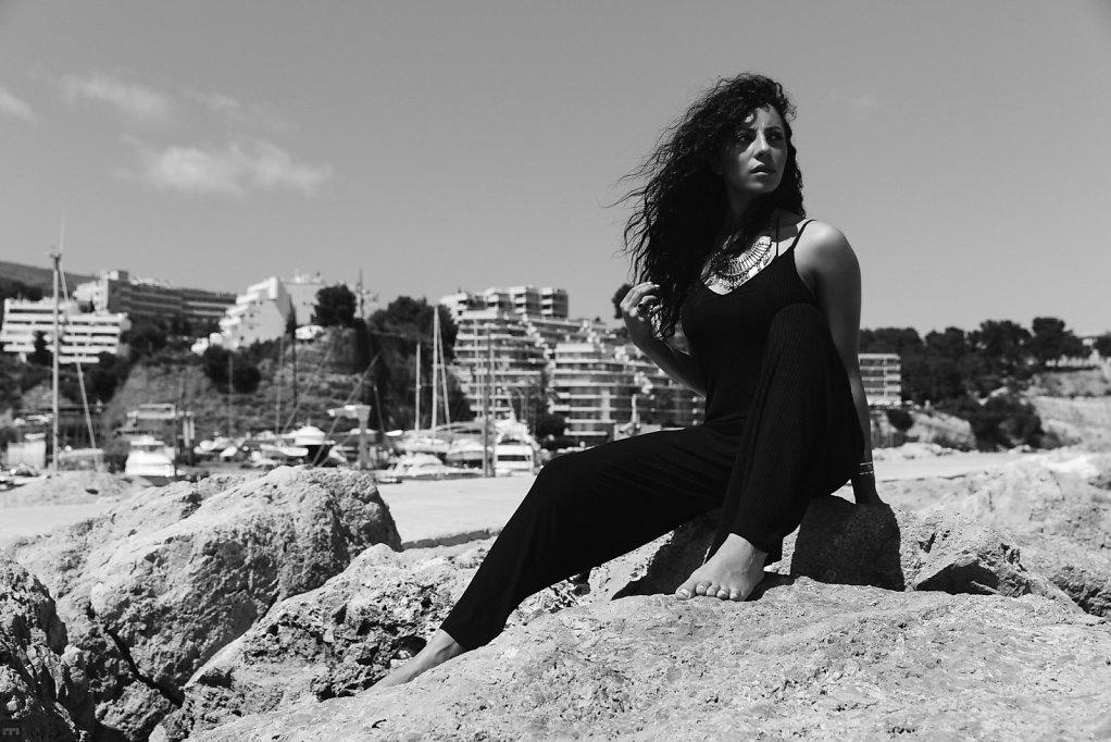 Jennifer, Dür, Shooting, Mallorca, 2016